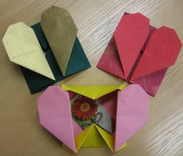 Открытка к дню учителя своими руками оригами, высказывания